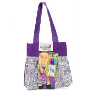 Style Me Up Colour Freedom Large Tote Bag Purple